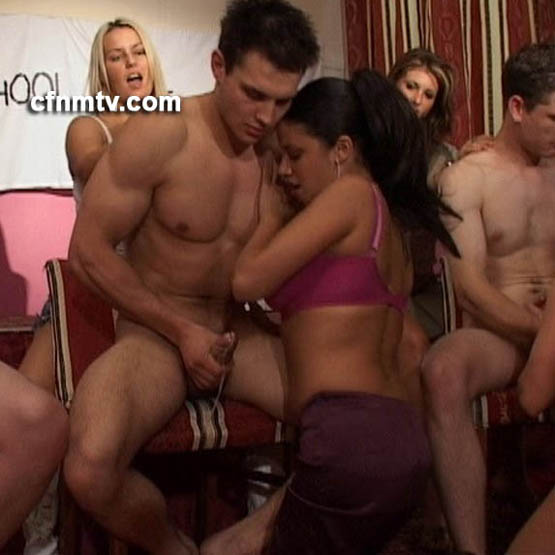 Goddess and friend humiliate slave in chastity 9