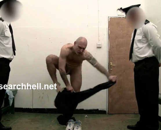 Strip Search Hell: Prisoner Gets Strip Searched